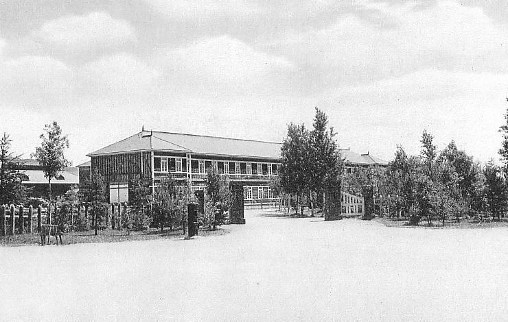 Высшая школа Тоехара Карафуто для девочек.