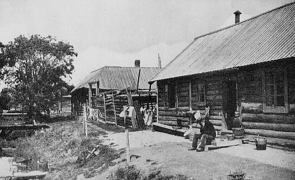 Русская деревня в Карафуто