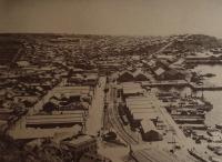 Карафуто. Вид города Одомари