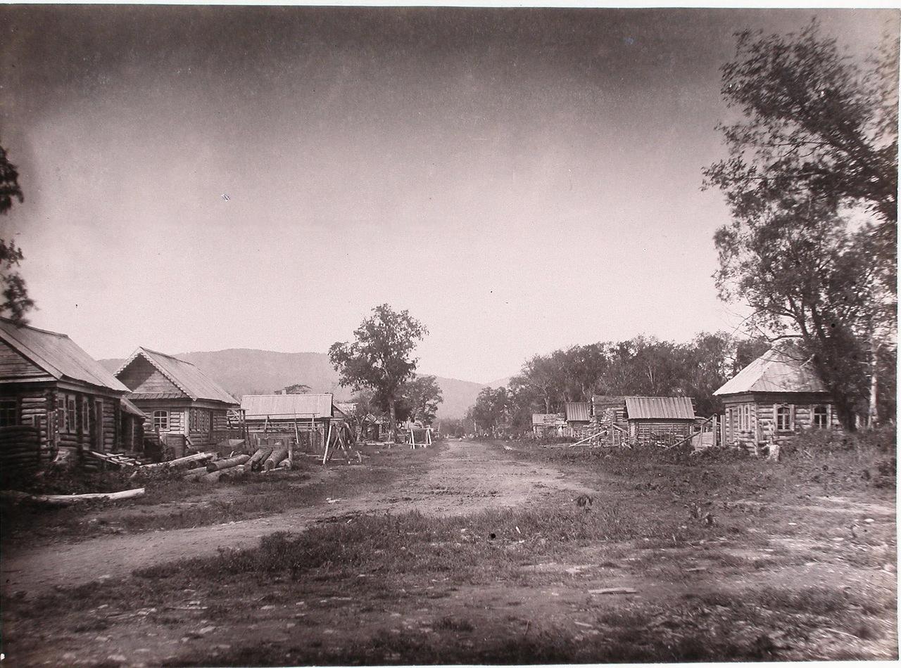 Вид жилых домов в поселенье Галкино-Врасское