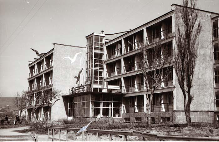 Строительство гостиницы Чайка