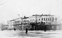 Здание КГБ в Южно-Сахалинске