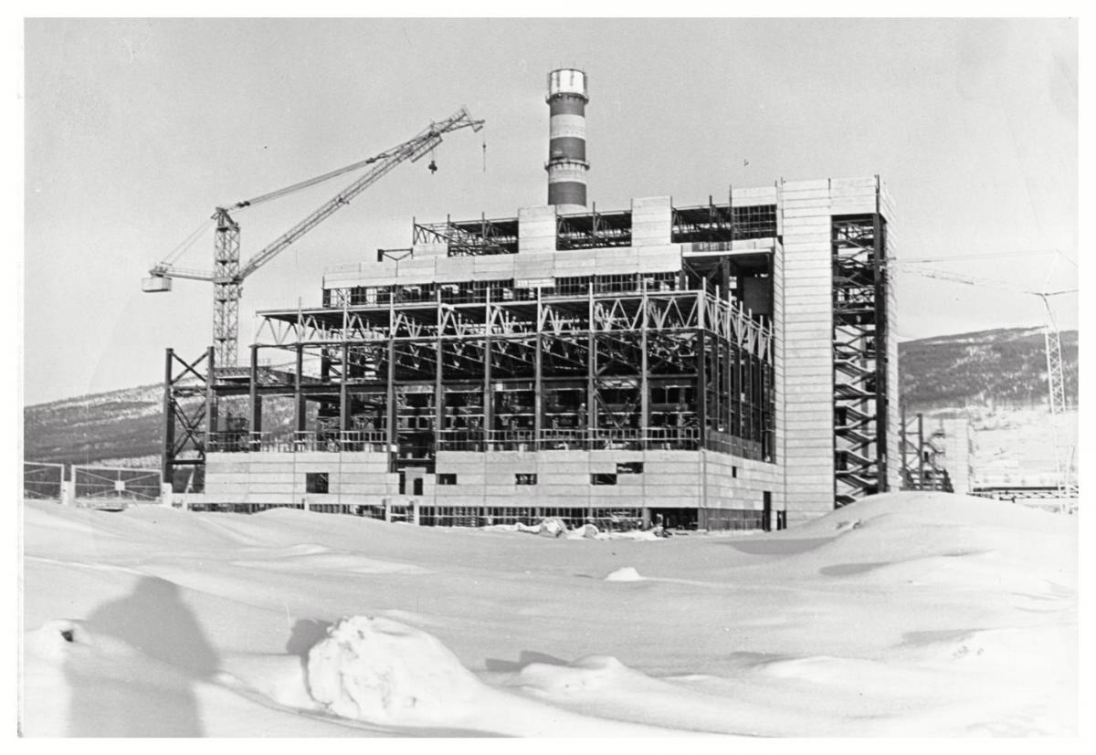 Строительство ТЭЦ-1