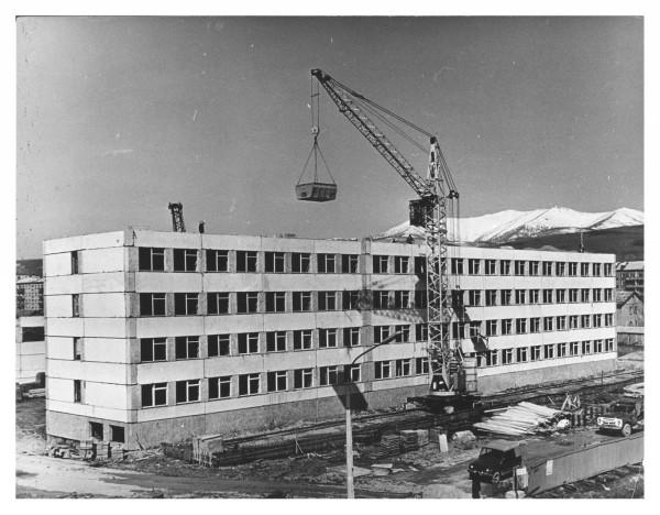 Строительство школы №3.