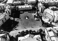 Центр Невельска, площадь им. В.И. Ленина
