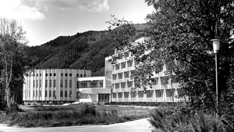 Санаторий 'Синегорские Минеральные Воды' построенный в 1981 году
