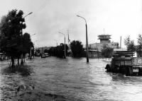 Август 1981 года. Район морвокзала. Последствия тайфуна