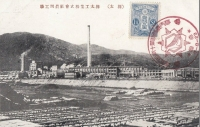 Завод Karafuto Industrial Co., Ltd. в Маока, панорамный вид