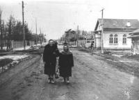 Банк на улице Ленина. Дата съемки приблизительна.