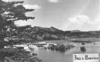 Остров Шикотан, Общий вид с. Крабозаводское