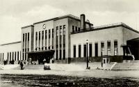 Маока - Холмск. Железнодорожная станция.