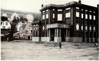 Торгово-промышленная палата Карафуто, Отомари. Современная Краснофлотская, район городской поликлиники.