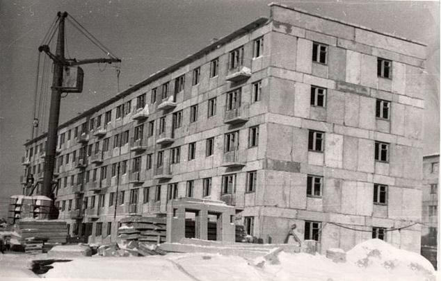 Строительство дома № 13