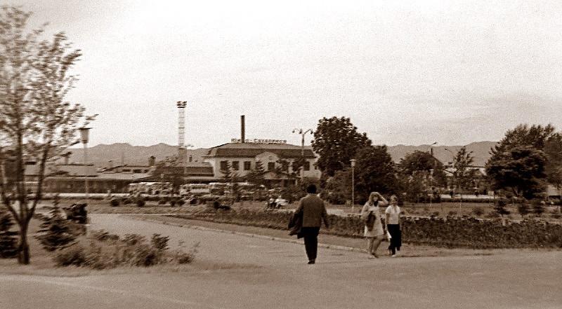 Железнодорожный вокзал. Южно-Сахалинск.