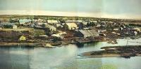 Панорама 4 из 5. г. Ноглики. Снято с японского плавкрана.