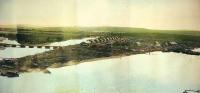 Панорама 5 из 5. г. Ноглики. Снято с японского плавкрана.