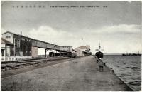Угольный терминал и Морской вокзал в порту Одомари.