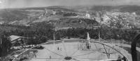 Панорама города c колеса обозрения