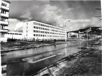 Средняя школа №3. г. Южно-Сахалинск. Построена в годы 10-й пятилетки.