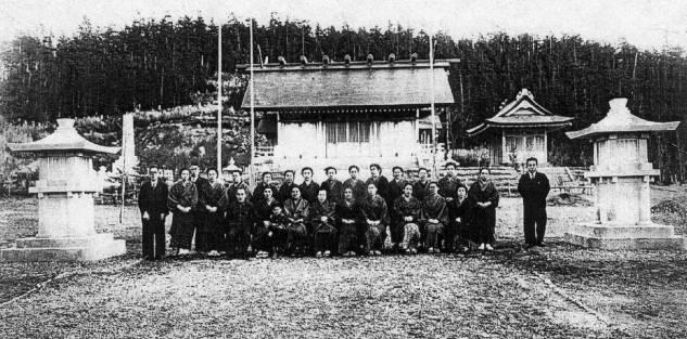 Синтоистский храм Эсутору-дзин-дзя.