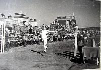 Проведение соревнований на стадионе в Северо-Курильске