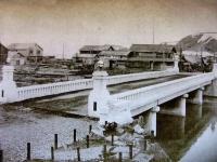 Мост Охаши. г. Томариору. С тремя опорами.