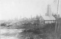 Первая нефтяная вышка на Сахалине