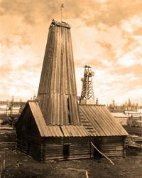 Памятник истории сахалинской нефтедобычи - 'Вышка Зотова'