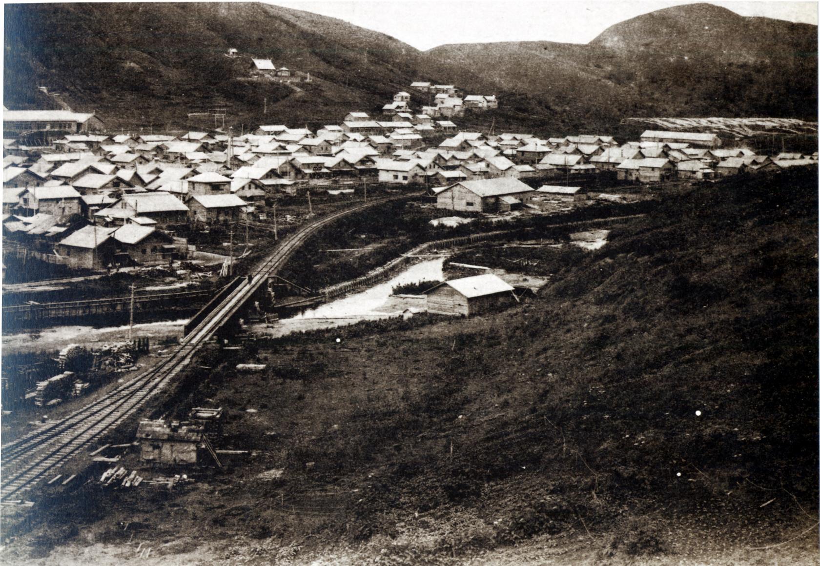 Общий вид на город Нода.