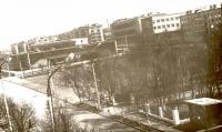 Вид на дом культуры 'Океан' и площадь Ленина.
