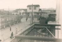 Старый железнодорожный вокзал.