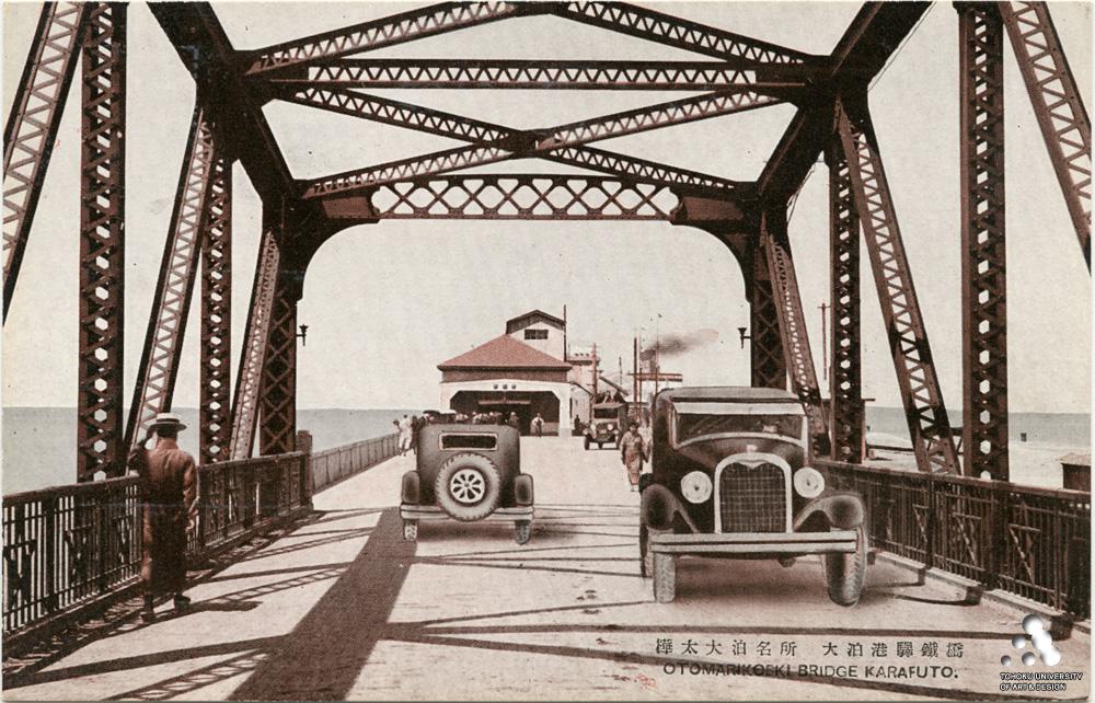 Мост к Морскому вокзалу Одомари
