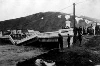 Мост Охаши после тайфуна. г. Томариору