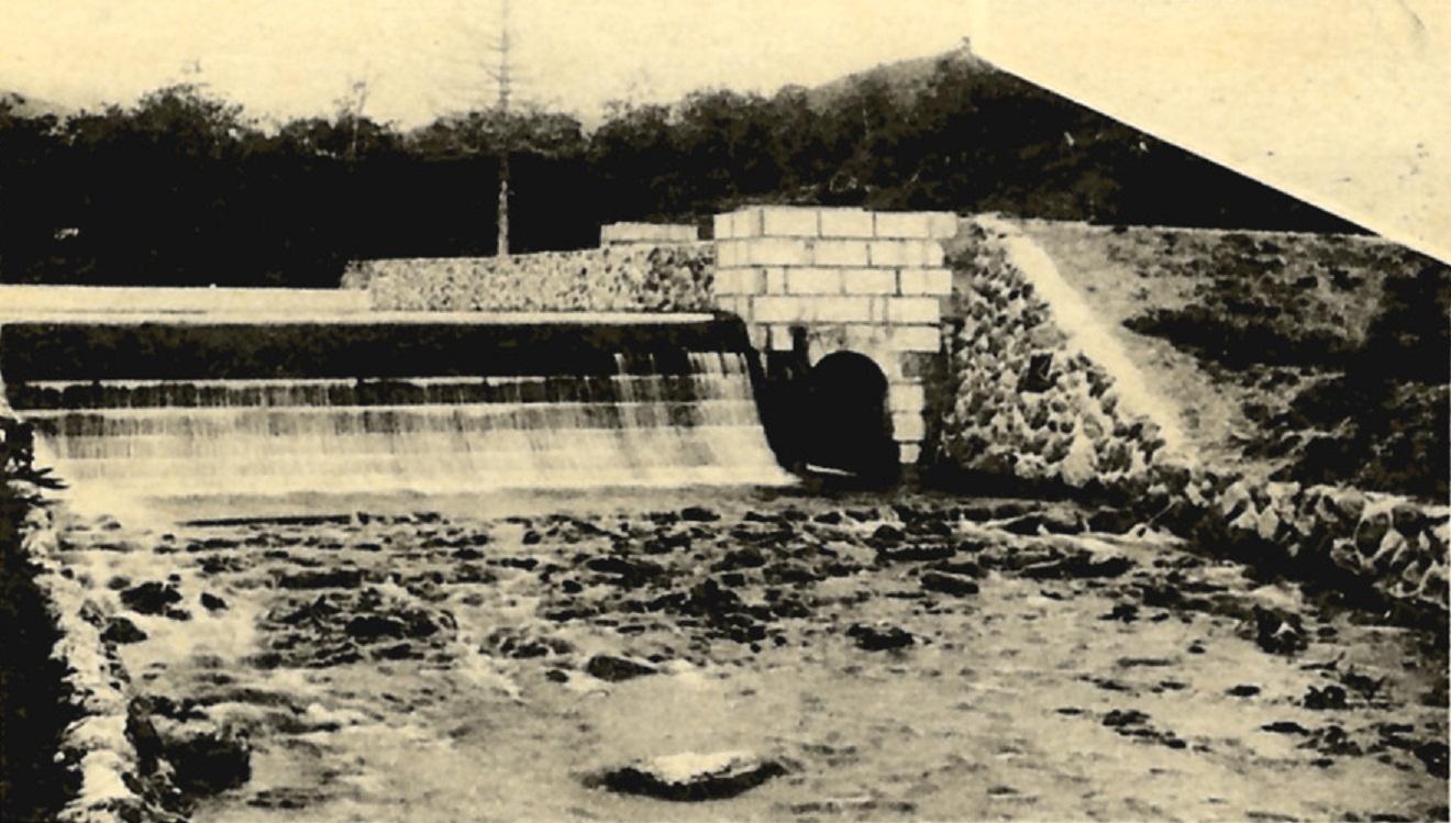 Плотина водохранилища