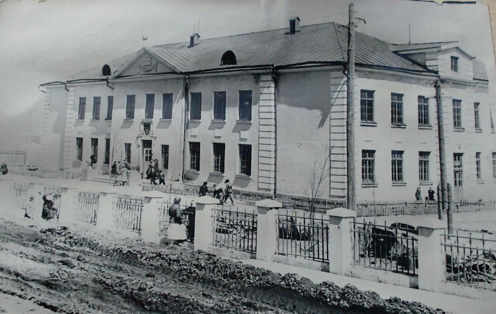Новое здание школы №1.