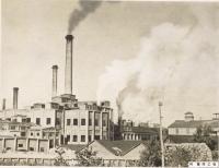 Целлюлозно-бумажный завод в Отиай