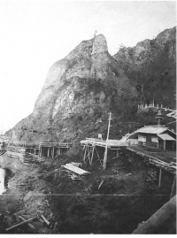 Храм Мидзутен мия дзиндзя в предместье Сиритору