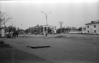 Автовокзал г. Углегорска. Июль.