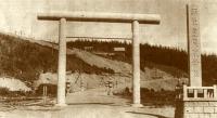 Дорога к храму Эсутору дзиндзя