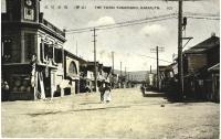 Центр города Томариору, магазин-салон Наканиши кимоно и драпировок