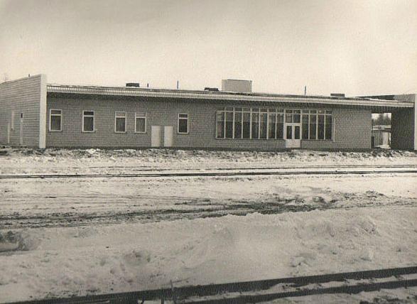 Здание вокзала г. Ноглики