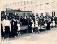 Открытие школы №1 г. Ноглики.