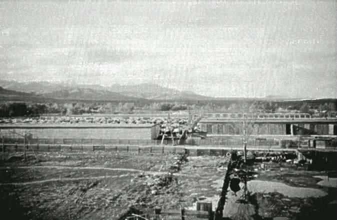 Вид с крыши дома 18 по улице Калинина. Военный городок. Леонидово.