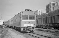 Дизель-поезд Д2-008. Станция Холмск. 18 сентября