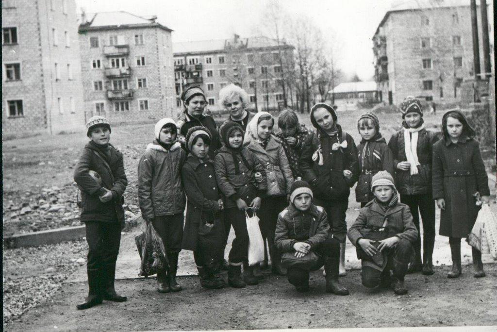 Военный городок. Леонидово.