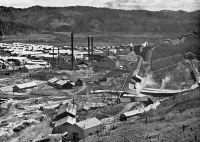 Угольная шахта и завод в Найхоро. Шахта компании 'Железные дороги юга Карафуто'
