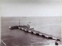 Вид на морскую пристань поста Александровска.