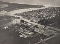 Вид города Сикука с самолёта