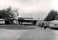 Площадь железнодорожного вокзала г. Долинск