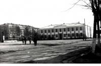 Площадь Ленина г. Долинск